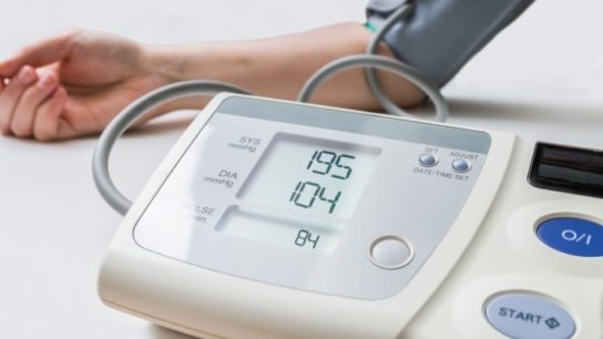 Blood Pressure Monitor High Systolic