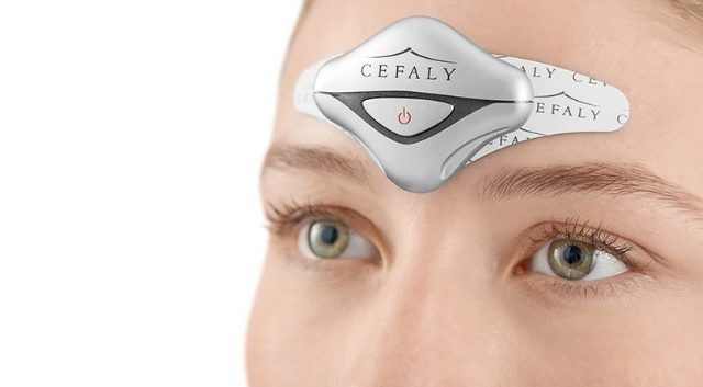 Cefaly smaller anti-migraine device