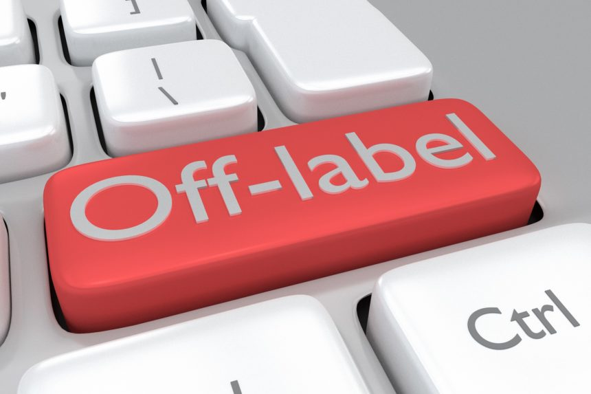 off label button