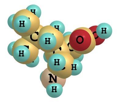 molecule of pregabalin