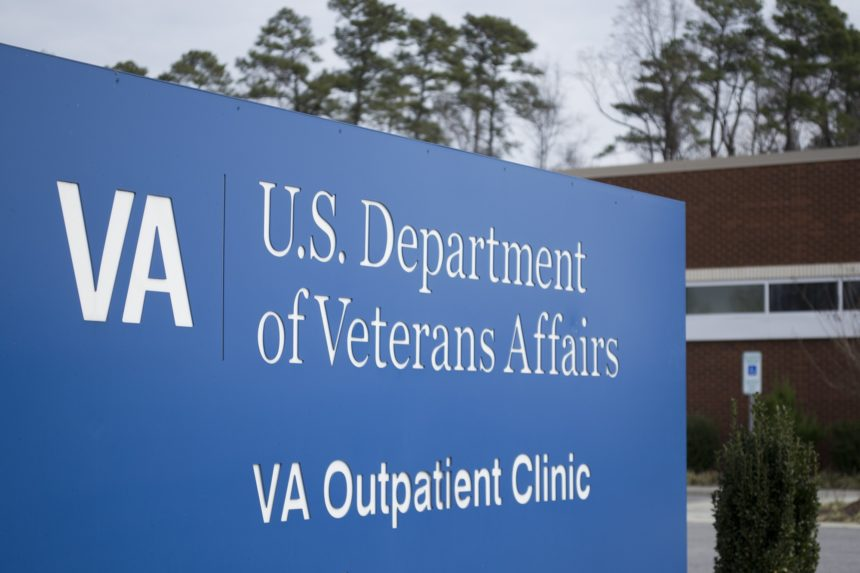 Veteran Affairs sign
