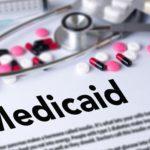 Medicaid, pills, stethoscope