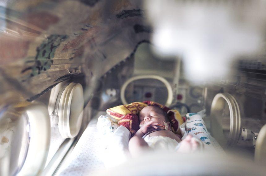 premature NICU baby