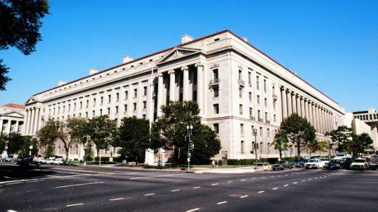 US Justice Department, Washington DC