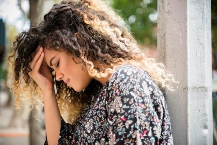 woman, headache, migraine